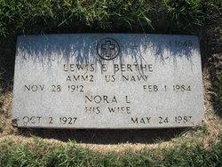 Lewis E Berthe