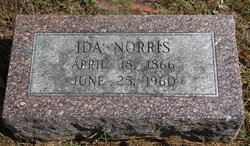 "Sarah Ida ""Ida"" <I>Phillips</I> Norris"