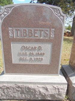 Oscar Delmore Tibbets