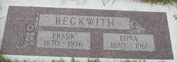 Edna E <I>Harry</I> Beckwith