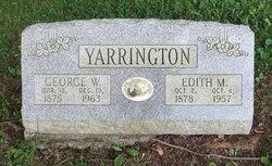George W Yarrington