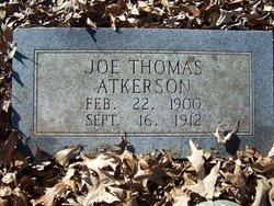 Joe Thomas Atkerson Jr.