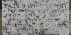 Mary Boyd Dinsmoor