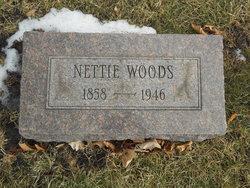 Nettie <I>Wegener</I> Woods