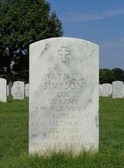 Wayne L Simpson