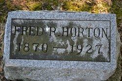 "Frederick R. ""Fred"" Horton"