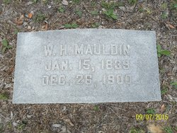 MAJ William Harrison Mauldin