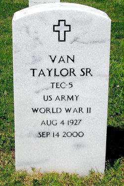 Van Taylor, Sr
