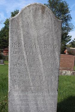Ira A Holbrook