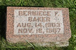 Bernice F Baker