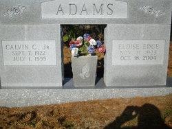 Eloise <I>Edge</I> Adams