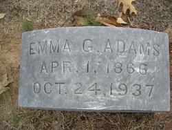 Emma <I>Gordon</I> Adams