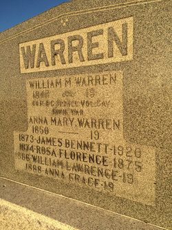 Anna Mary <I>Morrison</I> Warren