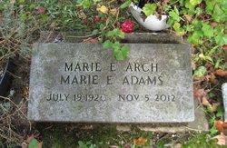 Marie Elizabeth <I>Ostrander</I> Adams