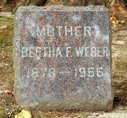 Bertha F. Weber