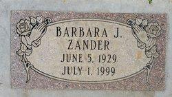 Barbara J. Zander
