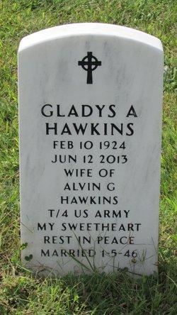 Gladys A <I>Hunchman</I> Hawkins