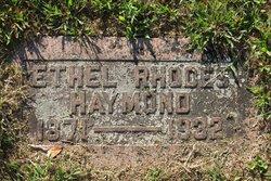 Ethel <I>Rhodes</I> Haymond