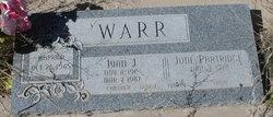 June Partridge Warr