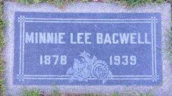 Minnie Lee <I>Thomas</I> Bagwell