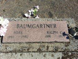 """Nellie Rosetta """"Rose"""" <I>Owen</I> Baumgartner"""