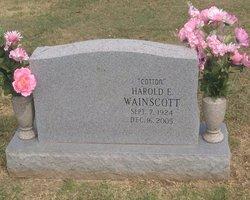 "Harold Edward ""Cotton"" Wainscott"