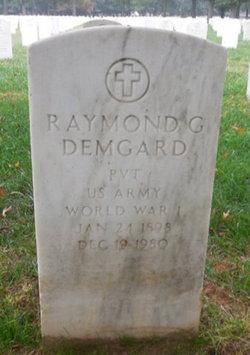Raymond G Demgard
