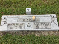 Mary Janet <I>Baggett</I> Wynn