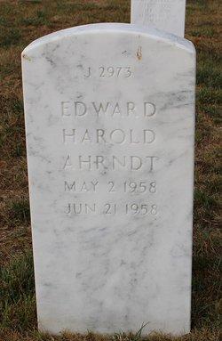 Edward Harold Ahrndt