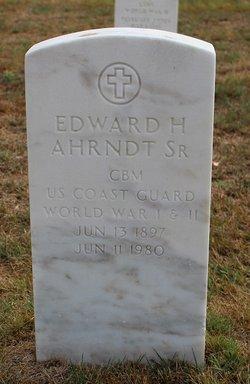 Edward H Ahrndt, Sr