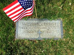 "Sgt John Joseph ""Jack"" Paisley"