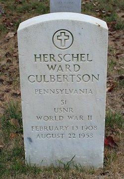 Herschel Ward Culbertson