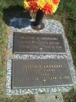 Elaine <I>Jones</I> Krokoski