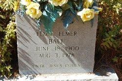Eliza Elmer <I>Prentiss</I> Ball