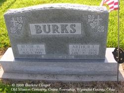 Bessie Helena <I>Courtad</I> Burks