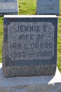 Jennie <I>Haslip</I> Cross