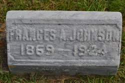 Frances A. <I>Cross</I> Johnson