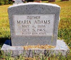 Maria <I>Lamb</I> Adams