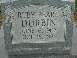 Ruby Pearl <I>Weatherford</I> Durbin