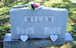 Mrs Gene <I>Hall</I> Milam