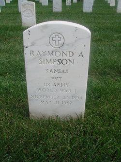 Raymond A Simpson