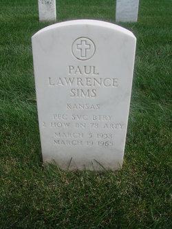 Paul Lawrence Sims