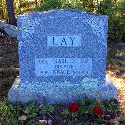 Grace S <I>Carr</I> Lay