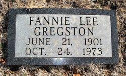 Fannie Lee <I>Wagnon</I> Gregston