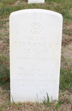 Terrance P Devlin