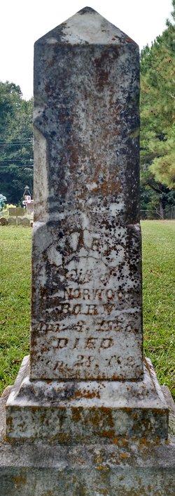 Mary <I>Farrar</I> Norwood