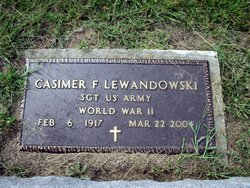 Sgt Casimir F. Lewandowski
