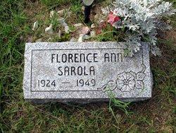 Florence Ann <I>Cicinelle</I> Sarola