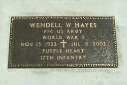 Wendell W Hayes