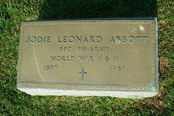 "Jodie Leonard ""Joe"" Abbott"